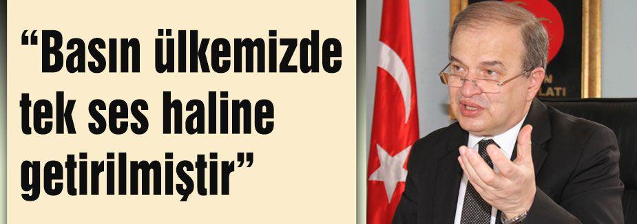 MHP'li Şimşek: Basın tek ses hale getirilmiştir