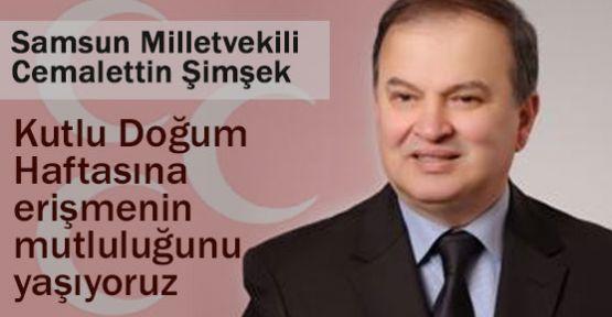 MHP'li Şimşek'in Kutlu Doğum Mesajı