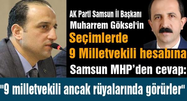 MHP'li Süslü'den AKP'li Göksel'e