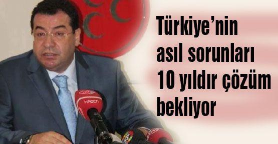 MHP'li Tanrıkulu; Türkiye'de Asıl Sorun Ekonomi...