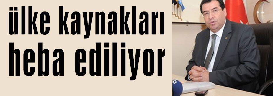 MHP'li Tanrıkulu'ndan basın açıklaması