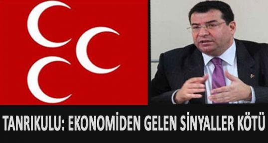 MHP'li Tanrıkulu'ndan Ekonomik Durum Tespiti