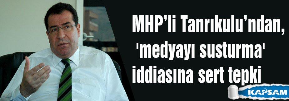 MHP'li Tanrıkulu'ndan sert tepki