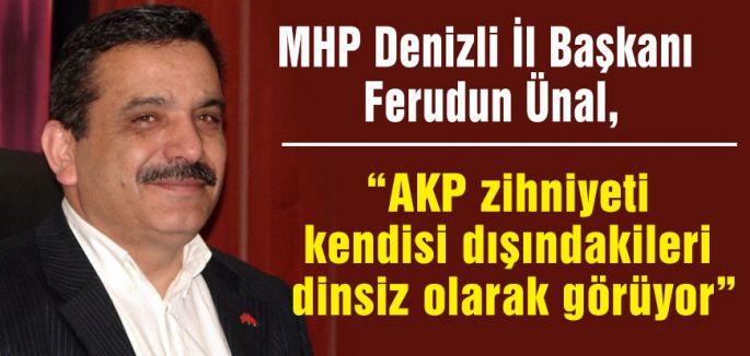 MHP'li Ünal: