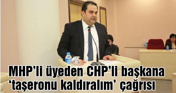 MHP'li üyeden CHP'li başkana çağrı