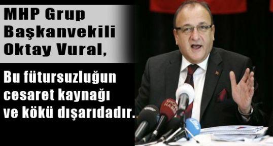 MHP'li Vural'dan Başbakan'a Tepki