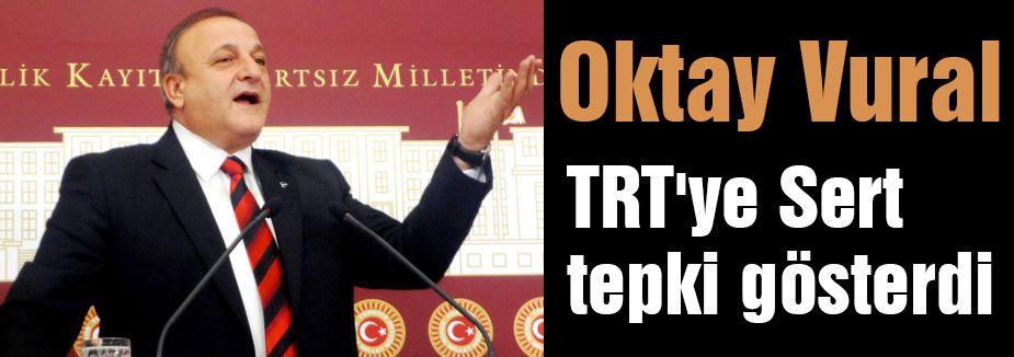 MHP'li Vural'dan TRT'ye Sert Tepki...