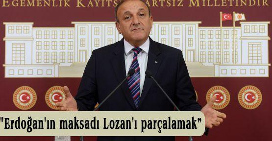 MHP'li Vural:'Maksadı Lozan'ı parçalamak'