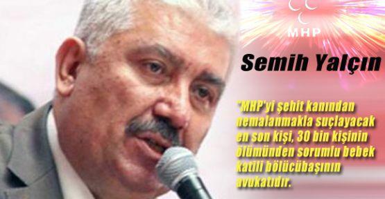 MHP'li Yalçın CHP'li Tanrıkulu'nu Yerden Yere Vurdu!