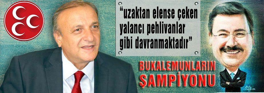 MHP'li Yalçın Suçlamalara Cevap Verdi