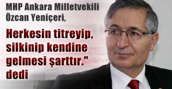 MHP'li Yeniçeri Türkiye Demek Türkçe Demektir