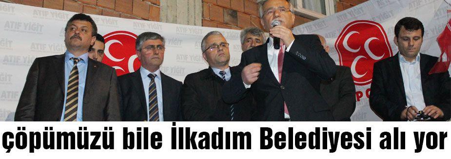 MHP'li Yiğit: