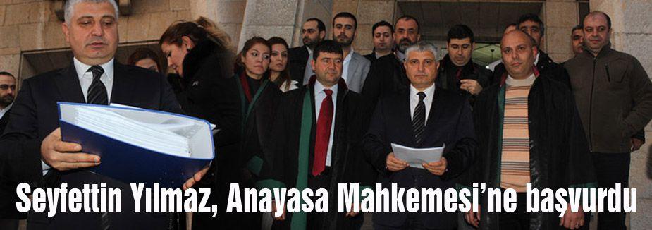 MHP'li Yılmaz, Anayasa Mahkemesi'ne başvurdu