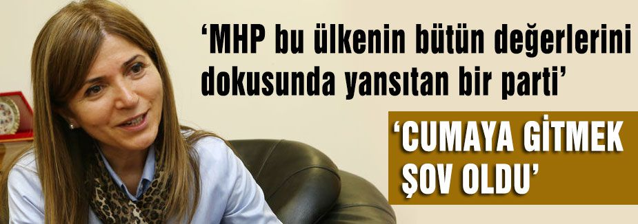 MHP'li Zuhal Topçu'yla Haftanın Sohbeti