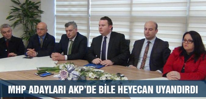 MHP'nin adayları AKP'de bile heyecan uyandırdı