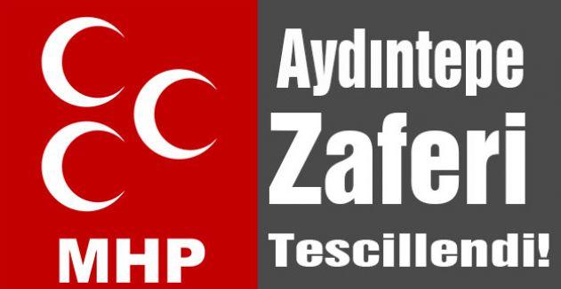 MHP'nin Aydıntepe Zaferi
