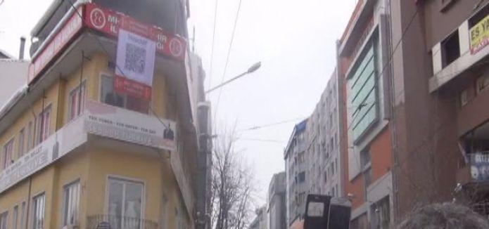 MHP'nin karekodlu tepki pankartına vatandaştan destek geldi