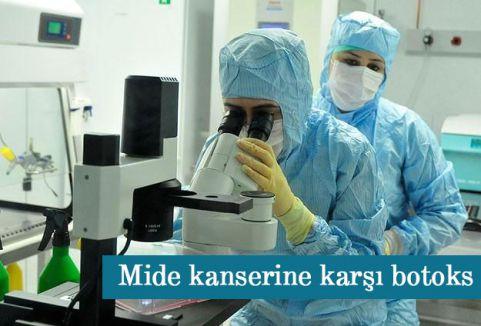 Mide kanserine karşı botoks