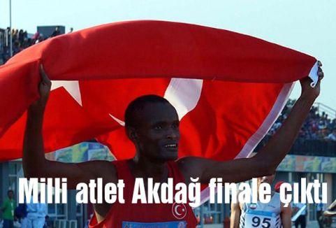 Milli atlet Akdağ finale çıktı