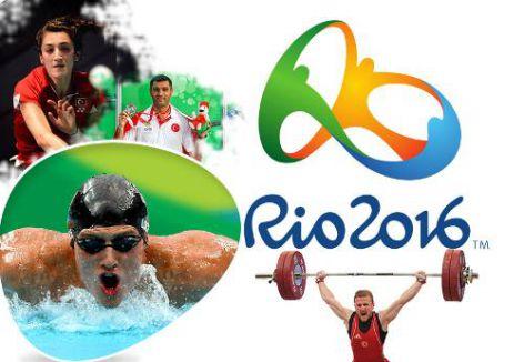 Milli sporcularda Rio 2016 heyecanı