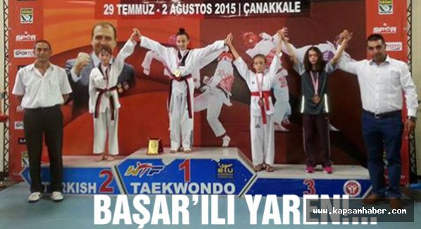 Minik sporcu Türkiye üçüncüsü oldu