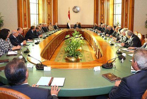 Mısır hükümeti istifa etti...