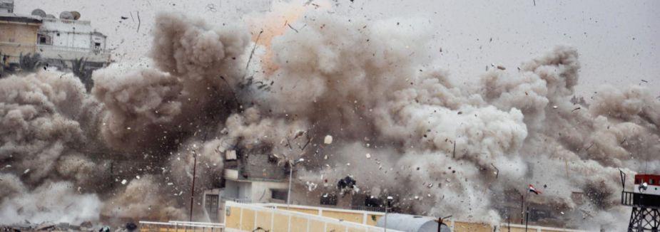 Mısır ordusu tünelleri bombaladı...