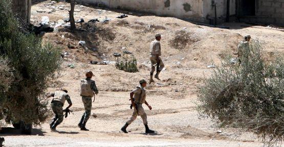 Mısır ordusundan Sina'da operasyon...