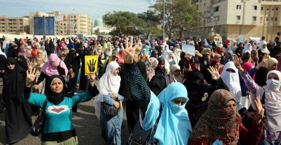 Mısır Üniversitelerinde gösteri...