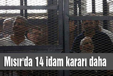 Mısır'da 14 idam kararı daha