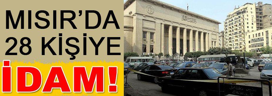 Mısır'da 26 idam