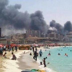 Mısır'da Bir yanda ölüm diğer yanda keyif