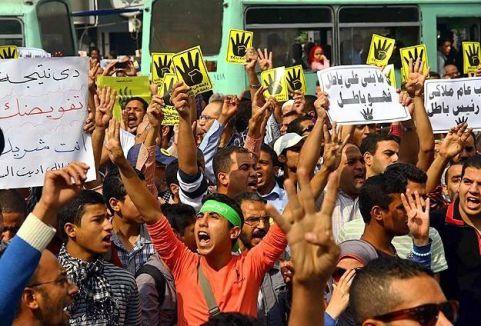Mısır'da darbe karşıtı imza kampanyası...