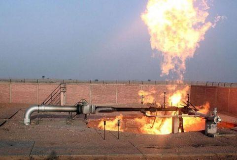 Mısır'da doğalgaz boru hattına saldırı...