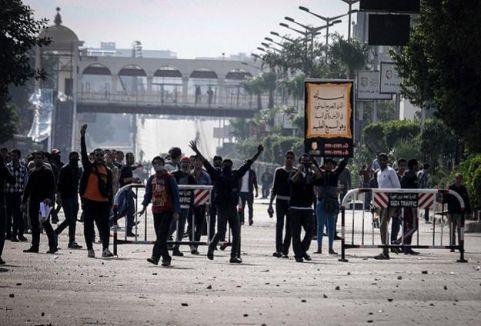 Mısır'da göstericilere müdahale...