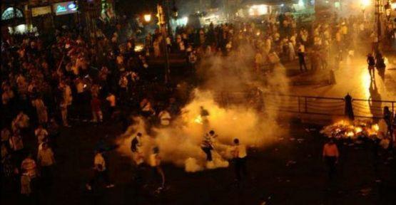 Mısır'da göstericilere sert müdahale