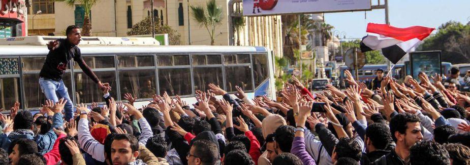 Mısır'da gösteriler...