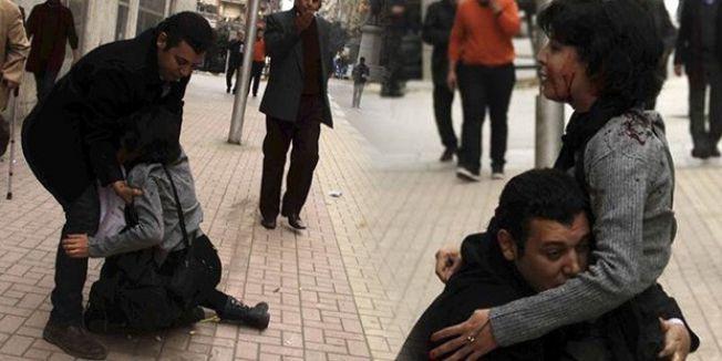 Mısır'da kadın gösterici böyle öldürüldü...