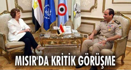 Mısır'da kritik görüşme