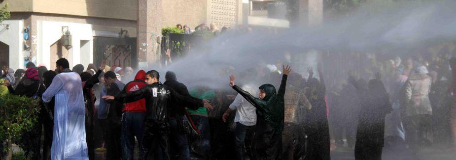 Mısır'da öğrencilere müdahale...