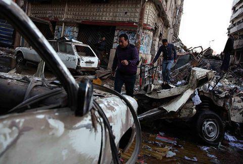 Mısır'da patlama: 8 ölü, 58 yaralı