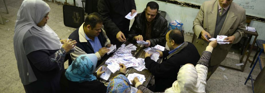 Mısır'da referandum sonucu...