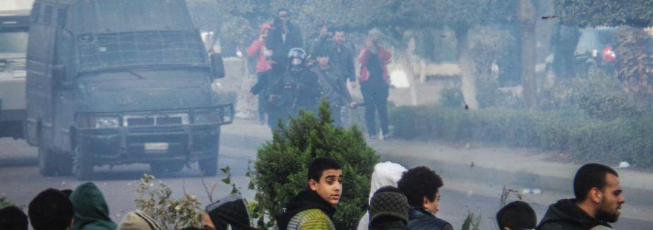 Mısır'da referandumu boykot gösterileri...