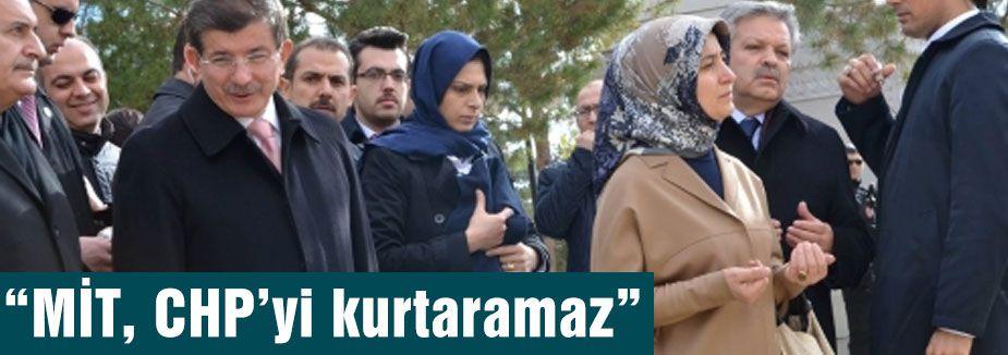 'MİT, CHP'yi kurtaramaz'