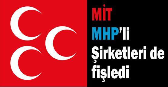 MİT, MHP'li Şirketleri Fişledi mi