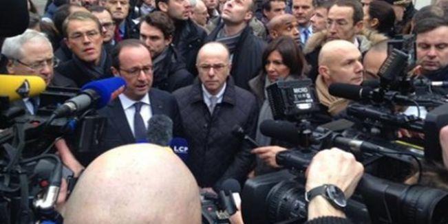 Mizah dergisine yönelik saldırıya Fransalı Türklerden sert tepki