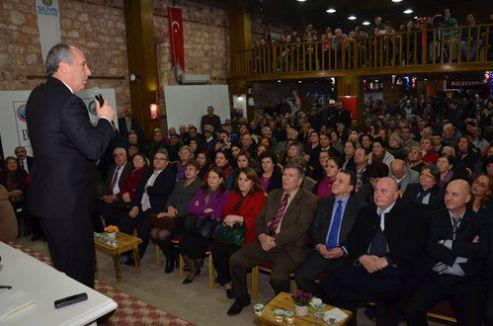 CHP'li İnce: İktidar, Zaman ve STV'ye el koymak istiyor