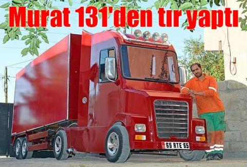 Murat 131'den tır yaptı