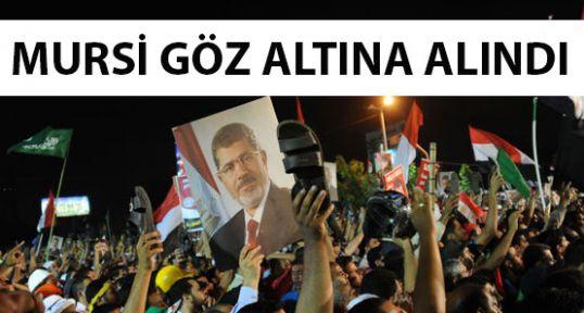 Mursi gözaltında