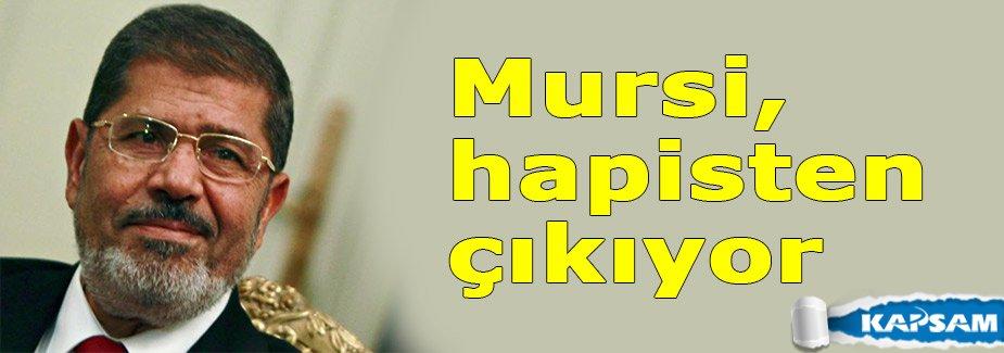 Mursi, hapisten çıkıyor